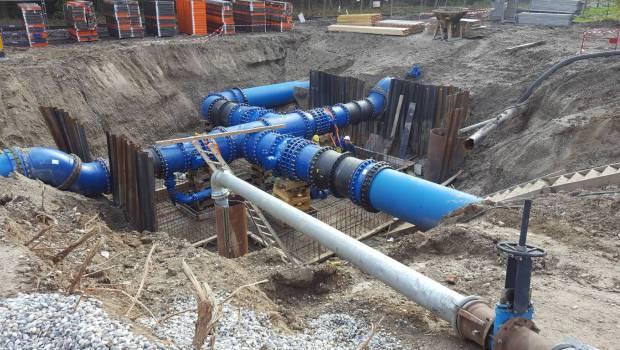 23 km de canalisations sur le champ captant de plobsheim construction cayola - Remontee d odeur des canalisations ...