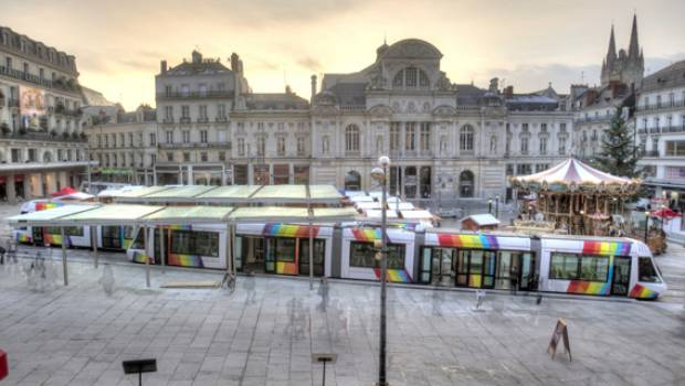 Le tramway d'Angers embarque Colas Rail