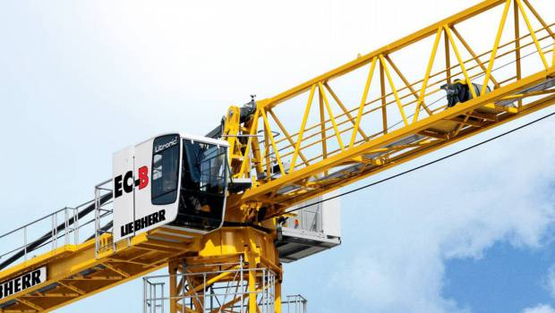 En Australie, Liebherr Grues à tour absorbe Morrow Equipment