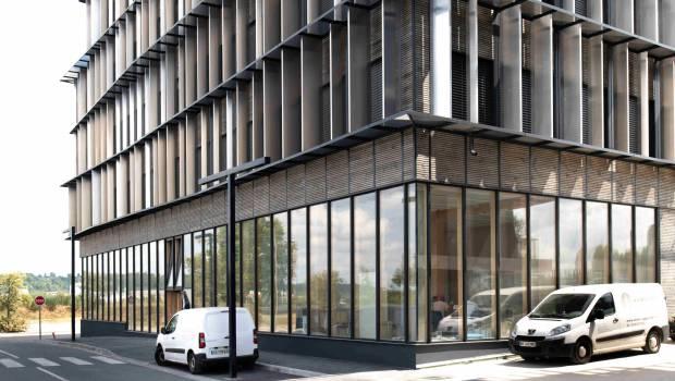 Un immeuble de bureaux en bois de 6 tages bordeaux construction cayola for Construction en bois 6 etages