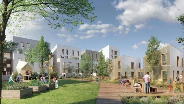 117 logements dans la zac centralit carri res sous poissy construction cayola - Cabinet vinci immobilier ...