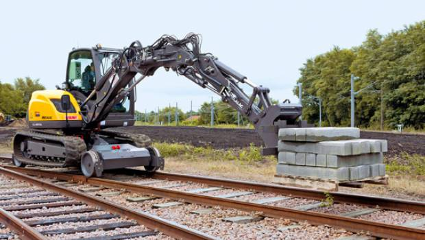 SIFER 2019 : Les solutions « rail » de Mecalac