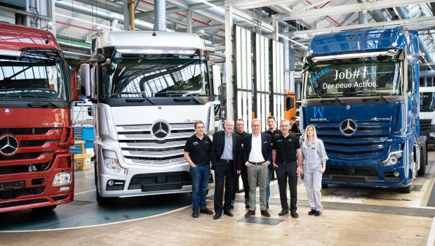 Mercedes-Benz Trucks lance la production de l'Actros 5 ...
