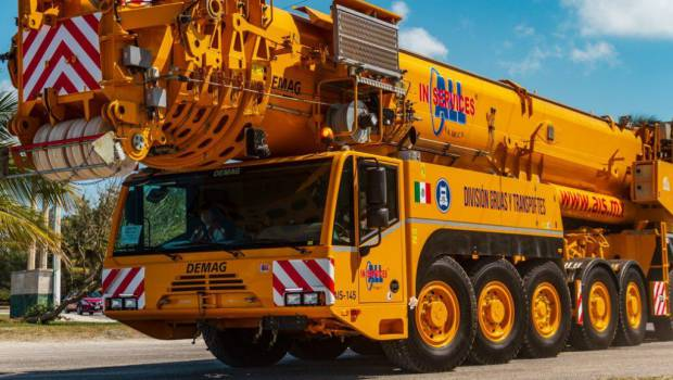 Une Demag pour Mexico's All In Services