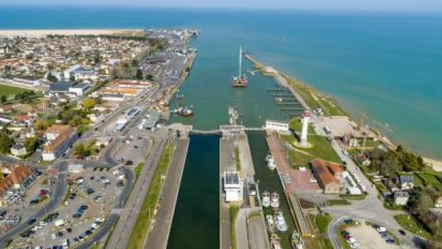 20 millions d'euros de travaux d'extension pour le port de Caen-Ouistreham - Construction Cayola