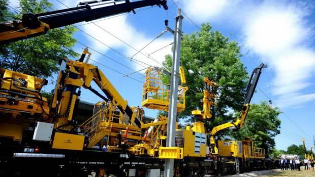 La ligne Creil-Jeumont sera bien armée ! - Construction Cayola