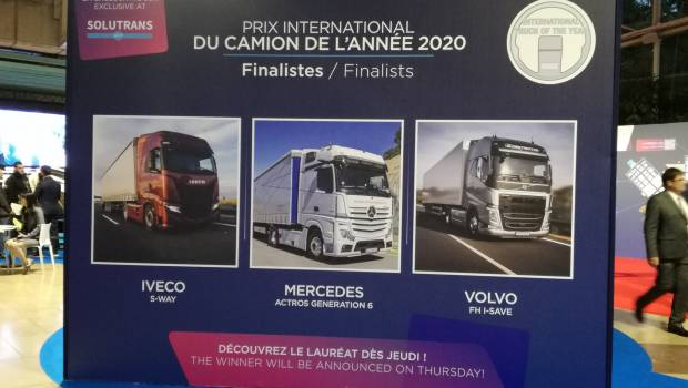Solutrans : le « truck of the year » 2019 bientôt dévoilé