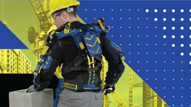 World of Concrete 2020 : Fraco dévoile un exosquelette