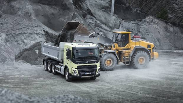 Nouvelle version du Volvo FMX : plus sûr, plus performant